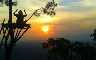 sunset puncak becici