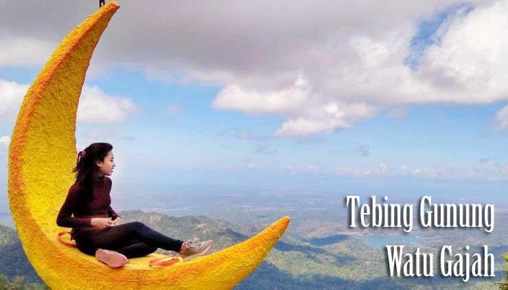 Tebing Gunung Watu Gajah