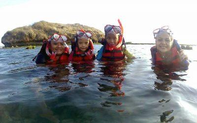 Snorkling Pantai Sadranan