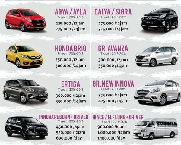 Jogja Empat Roda Rental Mobil Jogja Sewa Mobil Di Jogja Rental